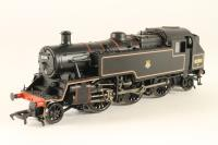 Standard Class 3MT tank 82001 in BR lined black with early emblem - Pre-owned - DCC Sound-fitted - Faulty speaker