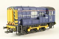 Class 09 Shunter 09006 in Mainline Blue Livery - Pre-owned - Cab handrails broken/missing left side - Damaged handrails front right side steps - Imperfect box