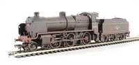 Class N 2-6-0 31404 in BR lined black with late crest - weathered