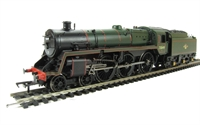 Standard Class 5MT 73049 in BR lined green with late crest & BR1 tender