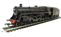 Standard class 5MT 73109 in BR lined black with early emblem and BR1B tender