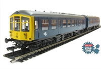 Derby Lightweight 2-car DMU in BR blue