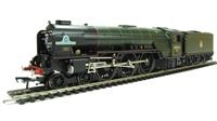 "Class A1 4-6-2 60163 ""Tornado"" in BR lined Brunswick green"