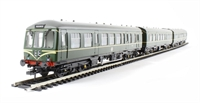 "Class 108 3 Car DMU in BR green with speed whiskers ""Middlesbrough"""