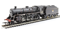 Standard class 4MT 2-6-0 76058 in BR lined black with early emblem
