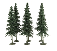 "5"" - 6"" Spruce Trees - Pack Of 6"