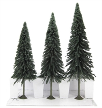 "8"" - 10"" Pine Trees - Pack Of 3"
