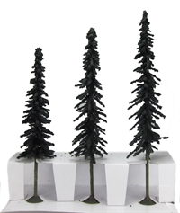 "8"" - 10"" Conifer Trees - Pack Of 3"