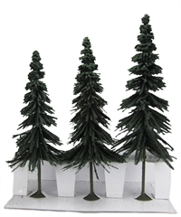 "8"" - 10"" Spruce trees - Pack Of 3"