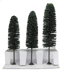 "8"" - 10"" Cedar Trees - Pack Of 3"