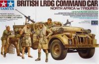 British LRDG Chevrolet Command Car with 7 figures and equipment