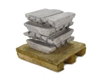 20 Metal Ingots On Pallet