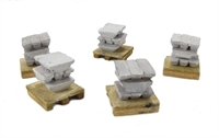 5 x 9 Metal Ingots on Pallet