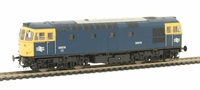 Class 33/0 D6579 in BR Blue with full yellow ends