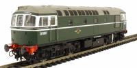 Class 33/0 diesel D6507 in early BR green