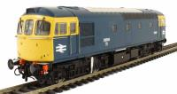 Class 33/0 diesel D6506 in BR blue with full yellow ends