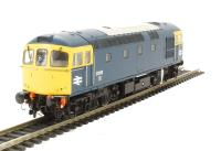 Class 33/0 diesel 33059 in BR blue with full yellow ends