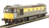 "Class 33/0 diesel 33002 ""Sea King"" in Engineers yellow & grey (as preserved at the South Devon Railway)"