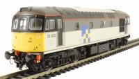 Class 33/0 diesel 33033 in Railfreight Construction Sector triple grey