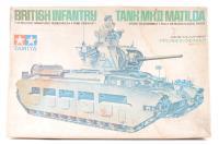 British Infantry Tank Mk.II Matilda - Pre-owned - faded box