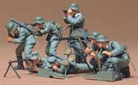 German machine gun troops with 7 figures & equipment