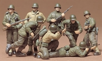 U.S. Infantry European Theater with 8 figures