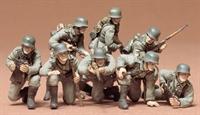 German Panzer Grenadiers - 8 figures