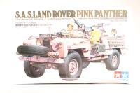 British SAS (Special Air Service) Land Rover 'Pink Panther' with figure . - Pre-owned - imperfect box