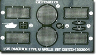 Panther G Photo Etched Grille