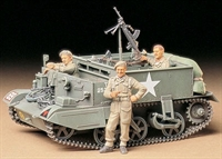 British Universal Carrier / Bren Gun carrier MkII with 3 figures