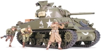 M4A3 Sherman with 75mm Gun & 3 figures