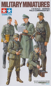 German field commandr set