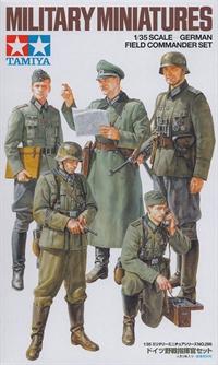 German field commandr set