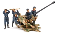 Flak 37 with crew