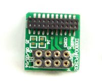 DCC 21-pin to 8-pin adaptor/converter. For locos with 21-pin sockets to use an 8-pin decoder in