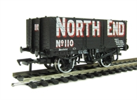 7 plank end door wagon in North End livery