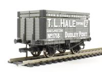 "7 plank wagon with coke rails ""T. L. Hale (Tipton) Ltd"""