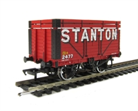 8 plank wagon with coke rails in Stanton livery