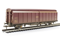 46 Tonne glw VGA sliding wall van in EWS livery - weathered