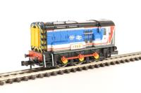 """Class 08 08600 """"Ivor"""" in Network SouthEast livery"""