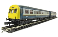 Class 101 2-car DMU BR blue & grey 'Express Parcels' (motor in each car)