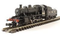 Class 2MT Ivatt 2-6-0 6404 in LMS black