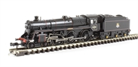 "Class 5MT Standard 4-6-0 73082 ""Camelot"" in BR lined black with early emblem & BR1B tender"