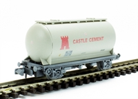 PCA bulk powder wagon 'Castle Cement' grey - weathered