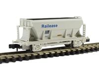 PGA bulk aggregate hopper wagon 'Railease'
