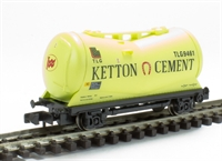 PCA taper bulk powder wagon'Ketton Cement' Yellow