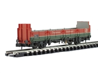 OBA 31 ton open wagon in 'Plasmor Blockfreight' - weathered.