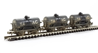 Triple pack 14 Ton tank wagons - weathered