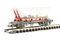 HCA hopper wagon with dust cover in Transrail - weathered