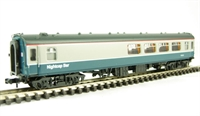 Mk1 BSP Pullman second bar car in blue/grey